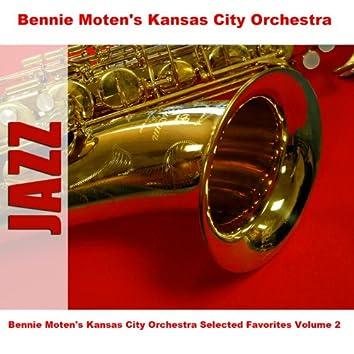 Bennie Moten's Kansas City Orchestra Selected Favorites, Vol. 2
