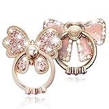 WATACHE Support d'anneau Doigt, 2 Pack Luxe Paillettes Diamant Universel...