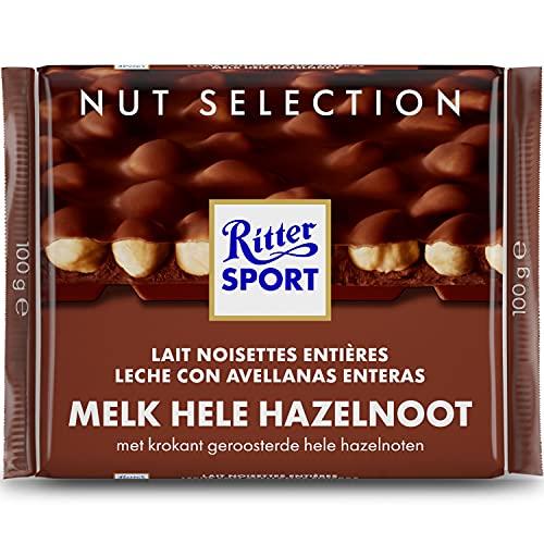 Ritter Sport - Nut Sélection - Lait Noisettes Entières 10 x 100G