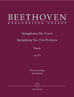 Symphony No.9 in D minor Op.125. Finale (Vocal Score) (German Edition)