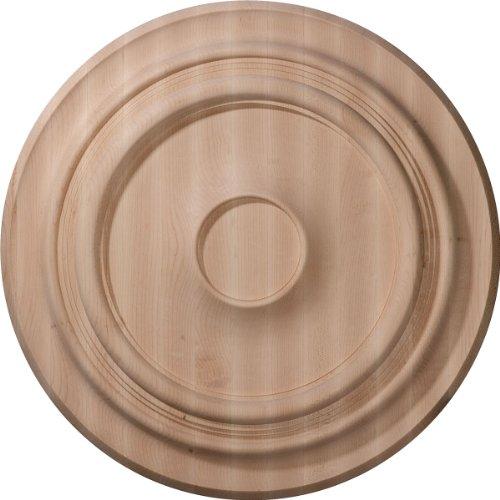 Ekena Millwork CMW20TRMA - Medallón de techo tradicional tallado (50,5 cm OD x 1 3/4 pulgadas)