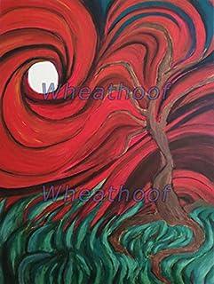 """Vendo cuadro óleo""""Angustia de un árbol"""""""