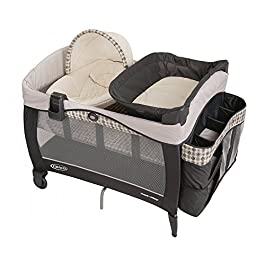 LUXURY BABY PLAYARD + NEW BORN NAPPER ELITE & BASSINET WITH LUXURIOUS FABRICS PROVIDES A COZY HAVEN FOR BABY, AT HOME AND AWAY.