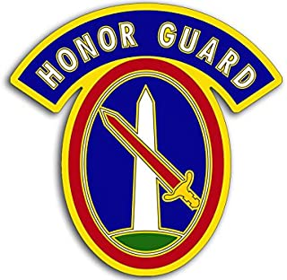 American Vinyl 3rd Infantry Honor Guard Sticker (Army Military)