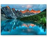 Paul Sinus Art Leinwandbilder   Bilder Leinwand 120x80cm