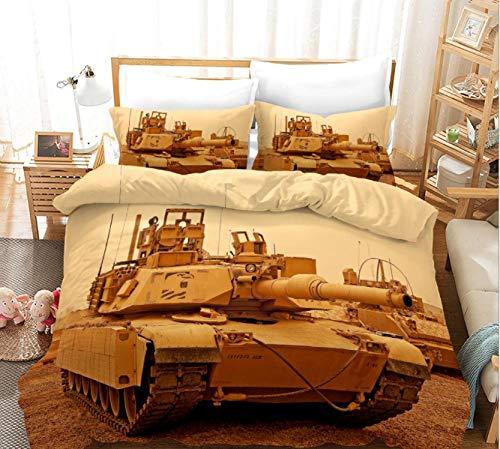 GSYHZL Bedding Duvet ,3D printing super king-size bed bedding set, pro-juvenile double duvet cover and pillowcase-F_135*200cm(2pcs)