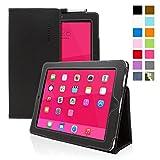 Étui pour iPad 1, Snugg - Housse de Protection en Cuir Noir, Style Smart Case Avec Garantie à Vie Pour Apple...