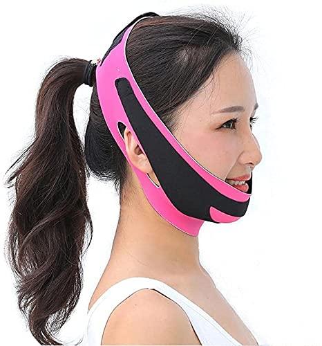 LXNQG V Facial Bandegeduble Chin Face Sliming Vendaje Lift Up Anti Anstromy Strap Band V Face Line Cinte Mujeres adelgazando Herramienta de Belleza Facial Delgada
