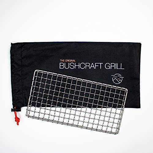 Blaze Bushcraft Grill - Welded Stainless Steel High Strength Mesh (Campfire Rated)