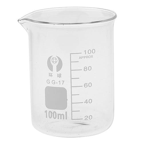 Sharplace Vaso Medidor - Vidrio Transparente - 100 ML