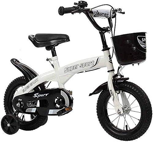 autorización YYS Bicicleta for Niños, Rueda de de de Entrenamiento de Flash for Carro de bebé, mujer y Hombre ( Color   blanco , Talla   12  )  edición limitada en caliente