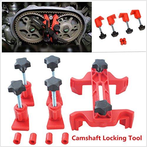 Voiture 5 pcs Dual CAM Arbre à cames Lock support pour calage Pignon Gear Outil de verrouillage