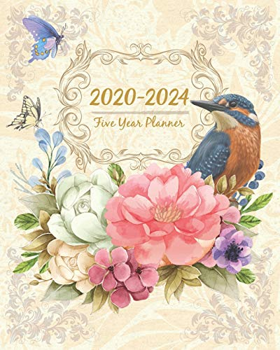 2020-2024 Five Year Planner: Monthly Planner 5 Years January - December 2020-2024   Monthly View   Calendar Views   Habit Tracker - Sunday Start