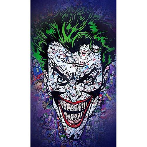 IHlXH JokerJoaquin Phoenix Heath Hauptbuch DC Film ComicsWandkunstGemälde Druck auf Leinwand Poster Bilder Home Deco 10 40X50cm No Framed