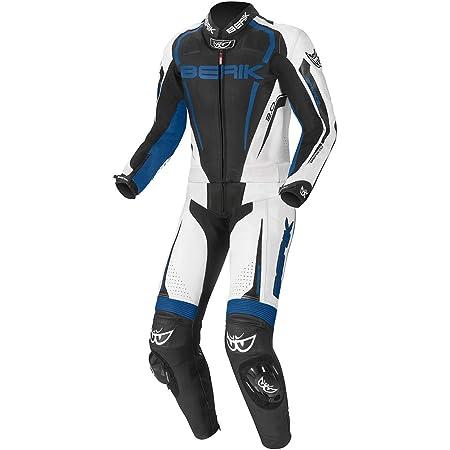 Xls Lederkombi Zweiteiler Blue Carbon Schwarz Weiss Blau Motorradkombi Zweiteilig Auto