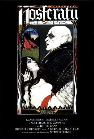"Filmposter ""Nosferatu"" mit Klaus Kinski, 61 x 91,5 cm"