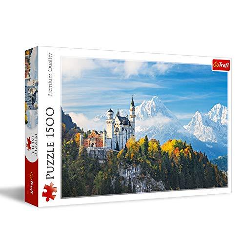 Puzzle 1500 Alpy Bawarskie