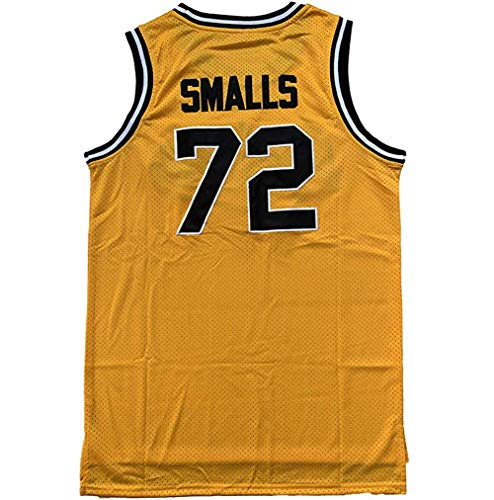 # 72 Bad Boys Basketball Jersey Herren, Weste Classic Stitched Bestickte Hip Hop Kleidung Movie Shirts Jungen gelb S-3XL-yellow-XXXL