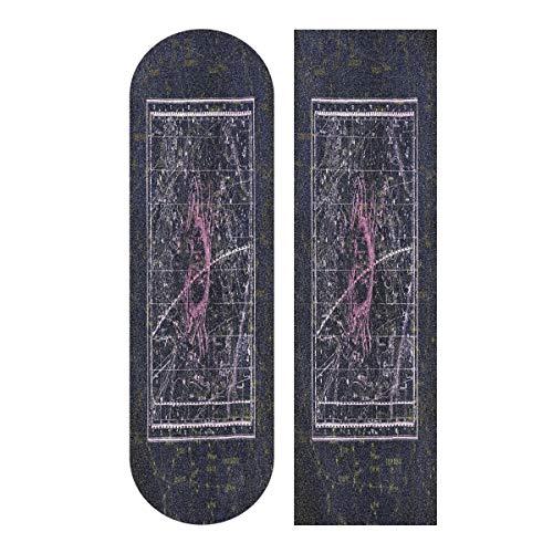 LDIYEU Skorpion Akrabbe Skateboard Griptape rutschfest Selbstklebend Longboard Griptapes Aufkleber Griffband 33
