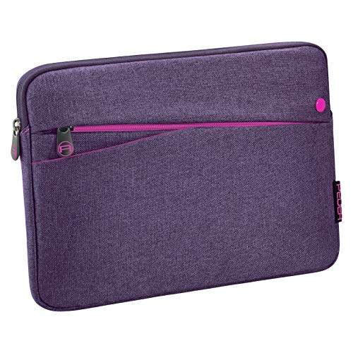 Pedea Tablet PC Tasche Fashion für 10,1-11 Zoll (25,6-27,96 cm) Schutzhülle Etui Case mit Zubehörfach, lila