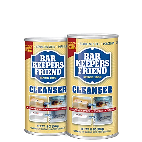 Bar Keepers Friend Powder Cleanser 12 Oz -...
