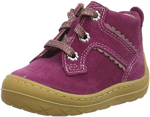 Superfit Baby Mädchen SATURNUS-50933250 Sneaker, Rot (Rot/Rosa 50), 22 EU
