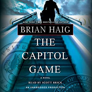 The Capitol Game audiobook cover art