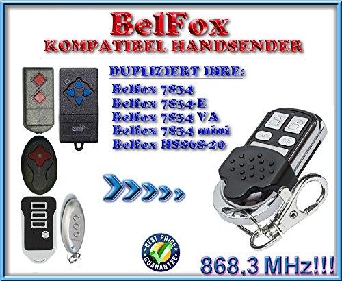 Belfox HS868-20 / 7834VA / 7834 mini / 7834 -E kompatibel handsender, klone fernbedienung, 4-kanal 868.3Mhz fixed code. Top Qualität Kopiergerät!!!