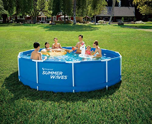 Summer Waves Frame Pool Zwembad, 366x91cm, met filterpomp