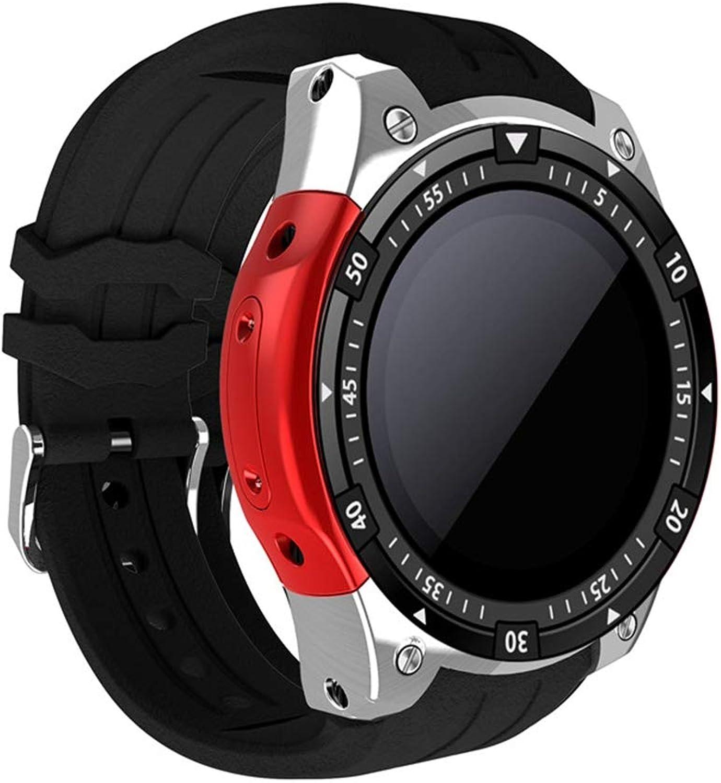 VERYMIN Smart Uhr Blautooth Smart Uhr X100 Android 5.1 MTK6580 3G WiFi GPS Smart Uhr Mnner für Samsung Gear S3 Huawei Uhr
