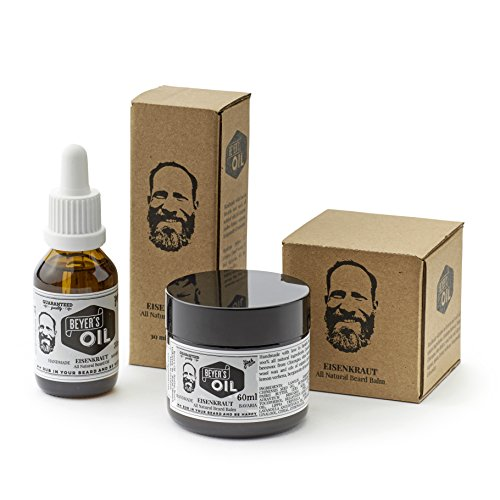 Beyer's Oil Bartöl & Beard Balm - Bartpflege Set - 100% natürlich - Handgemacht in Bayern