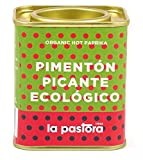 LA PASTORA | Producto Gourmet | Pimentón Picante Ecológico | 75 gr. | 100% Natural | Pimentón en Polvo | Potente Antioxidante | Apto Para Celíacos | Condimenta Tus Comidas | Pimentón Español