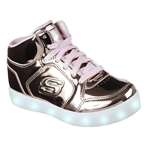 falta de aliento Dando camión  Skechers Energy Lights, Entrenadores Niñas - Zapatillas con luces LED para  niños