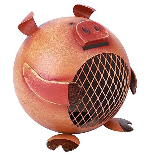 Innovadora Caja de Dinero de Cerdo Juguete Ahorro de Monedas Hucha Adorable Caja de Ahorro de Monedas en Forma de Cerdo Regalo Decoración para el hogar Adorno
