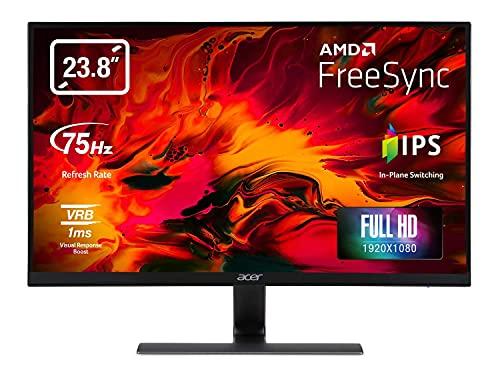 Acer Nitro RG240Ybmiix 23.8 Inch FHD Gaming Monitor, Black (IPS Panel,...