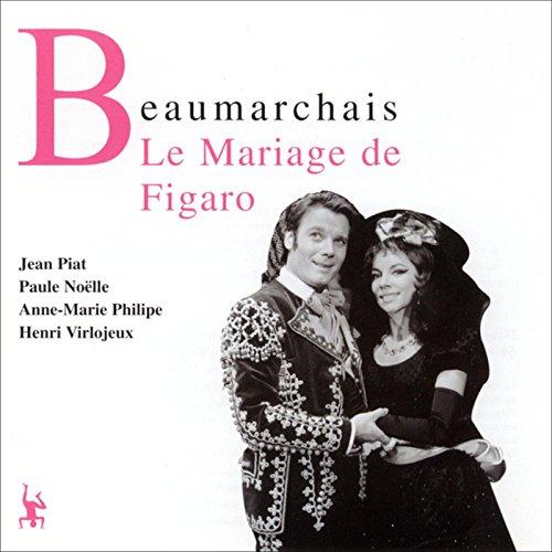 Couverture de Le mariage de Figaro