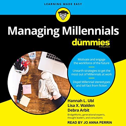 『Managing Millennials for Dummies』のカバーアート