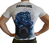 Khroom T-Shirt de Compression de Super-héros pour Homme | Vêtement Sportif à Séchage Rapide pour Fitness, Gym, Course, Musculation | Matériel Extensible et Ventilé Anti Transpiration Dragon