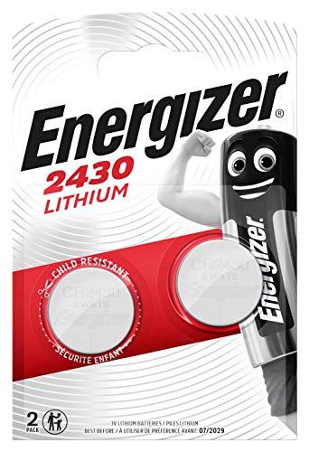 Energizer CR2430 Batterien, Lithium Knopfzelle, 2 Stück