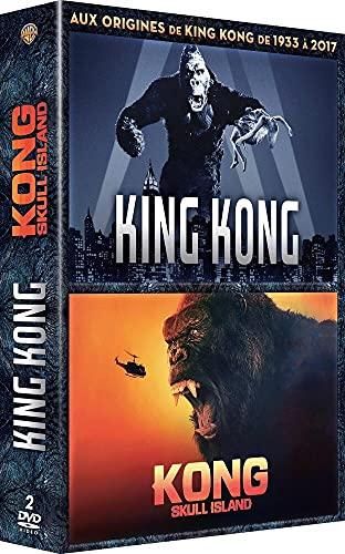 Coffret king kong 2 films : king kong 1933 ; kong, skull island [FR Import]