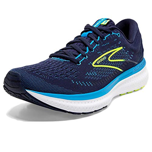 Brooks Glycerin 19, Scarpe da Corsa Uomo, Navy/Blue/Nightlife, 42.5 EU
