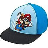 Nintendo Boys Super Mario Baseball Cap - Age 4-7 Blue