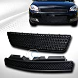 HS Power BLK Sport MESH Front Upper+Lower Bumper Grill Grille ABS 2006-2009 Chevy Impala