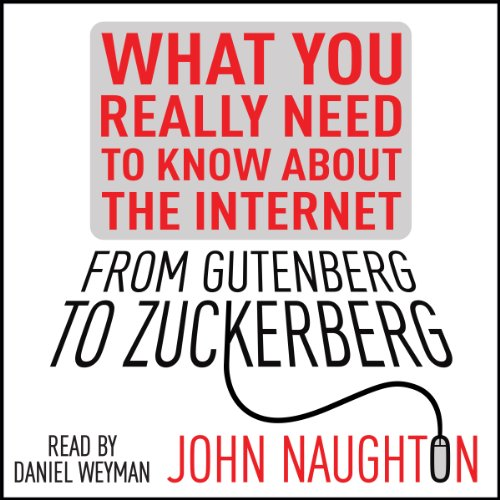 From Gutenberg to Zuckerberg audiobook cover art