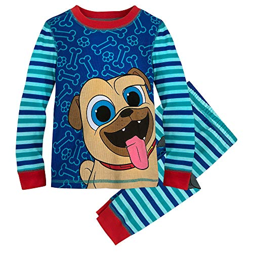 Disney Rolly and Bingo PJ PALS for Boys - Puppy Dog Pals Size 2 Multi