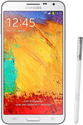 Samsung Galaxy Note 3 Neo Smartphone (13,94 cm (5,49 Zoll) Super AMOLED-Touchscreen, 1,3 GHz Quad-Core-Prozessor, 8 Megapixel Kamera, Android 4.3) weiß