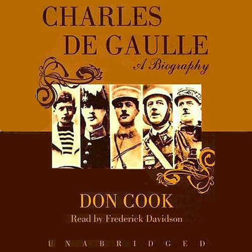 Charles de Gaulle audiobook cover art