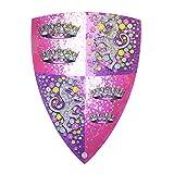 Liontouch 25201LT Escudo de Juguete de Espuma Princesa de Cristal para niños | Forma Parte de la línea de Disfraces para niños
