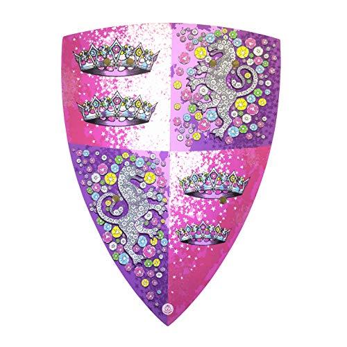 Liontouch 25201LT Kristall Prinzessin Schild, Pink | Spielzeug aus Schaumstoff für Mädchen