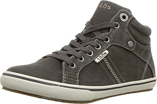 Taos Footwear Women's Top Star Graphite Distressed Sneaker 7.5 M US